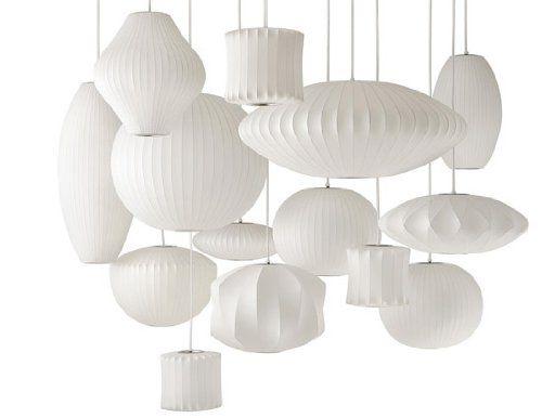 """Anfang der 1950er Jahre entstand mit der """"Bubble Lamp"""" eine ikonische Leuchte, die sich bis heute großer Beliebtheit erfreut. Zugeschrieben wird sie George Nelson, entworfen hat sie aber ein anderer."""