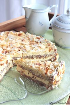 Schwedische Mandeltarte -(scroll down for english version-Swedish Almond Tart)