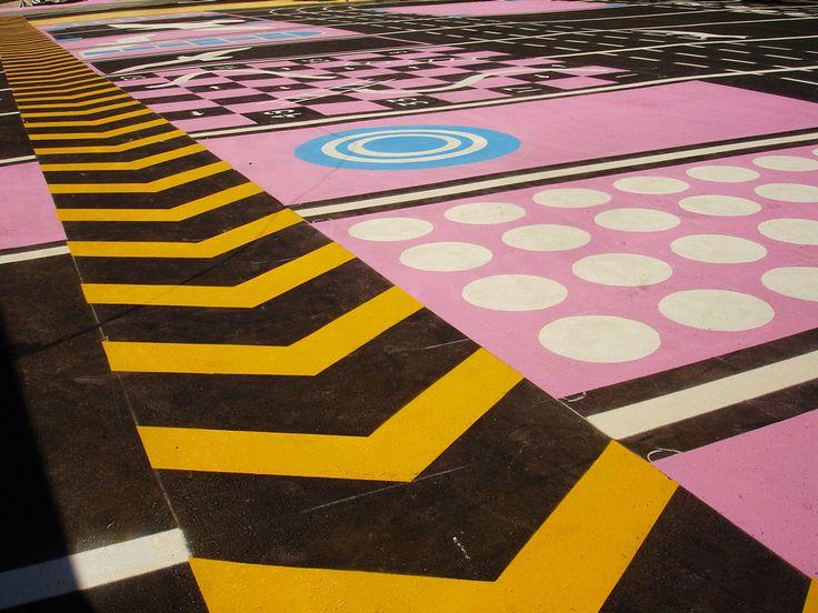 Addition of Color & Pattern | NIPPaysage | Landscape Architecture Works…