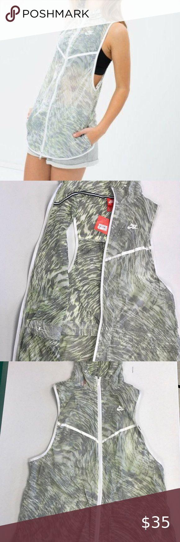 Nike Women's Tech Hyperfuse Vest Volt / White XL in 2020