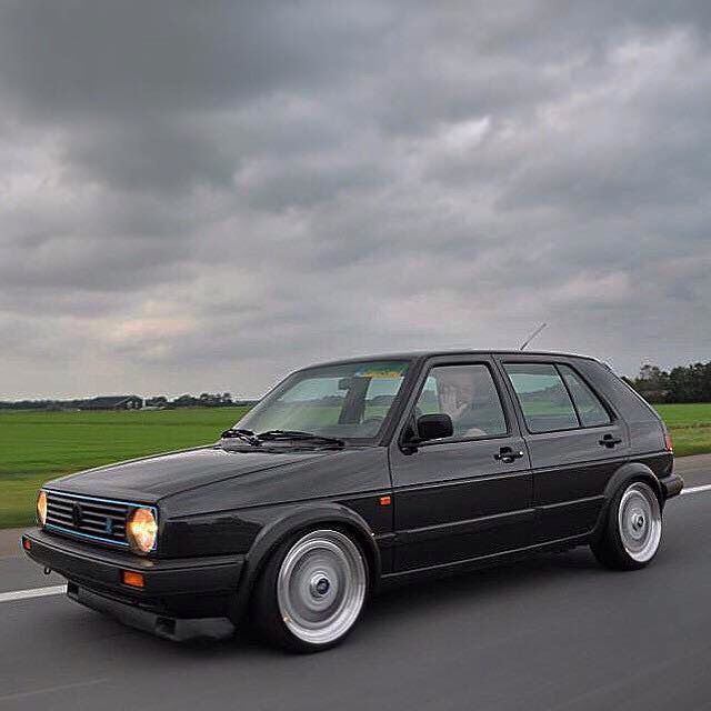 Golf GTI G60 16V, one of approx 210 made.