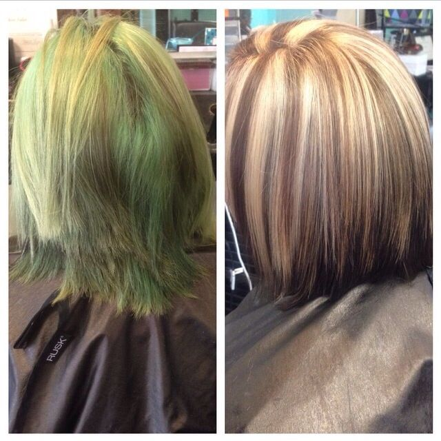 What S Color Correction Hair