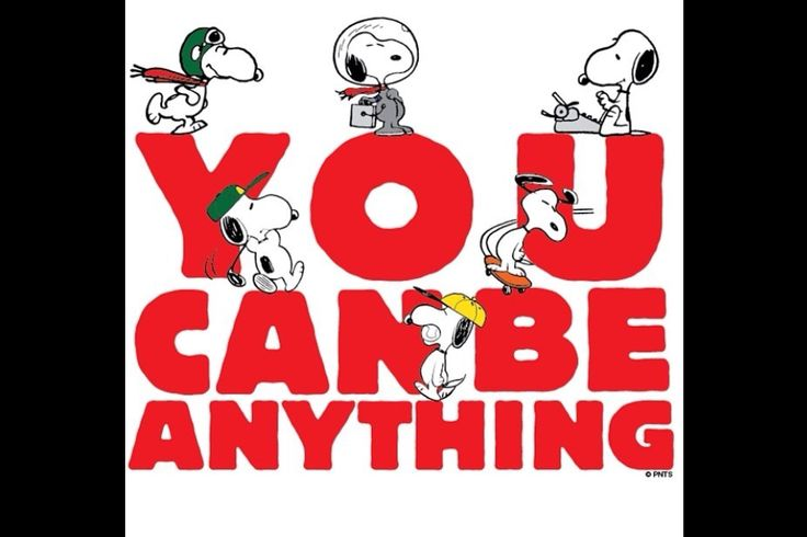 Snoopy says it best!!!
