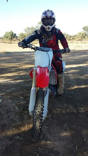 Nick waters on new honda crf 450 2014 arai helmets