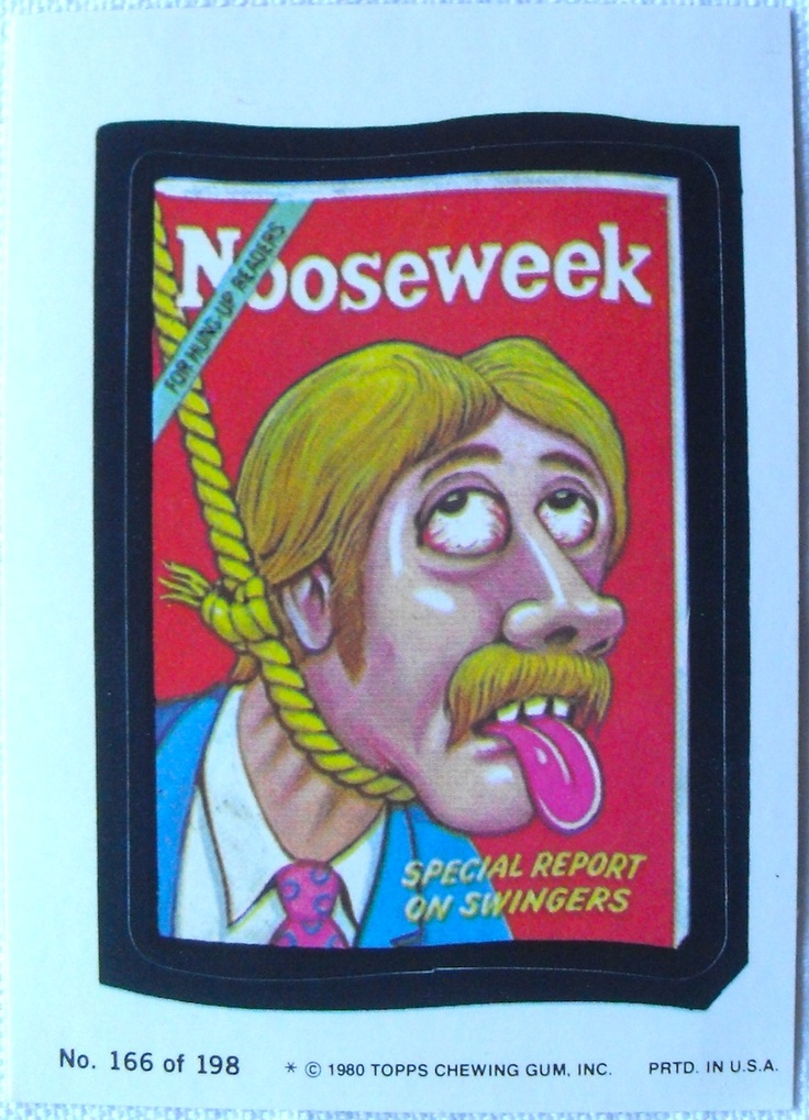 The 1980 edition of the 1970s spoof stickers that became a pop cultural phenomenon