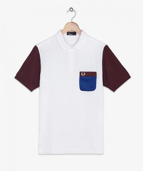 Fred Perry - Tricot Pocket Pique Shirt