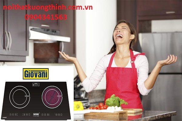 Bếp điện từ Giovani có an toàn không?:
