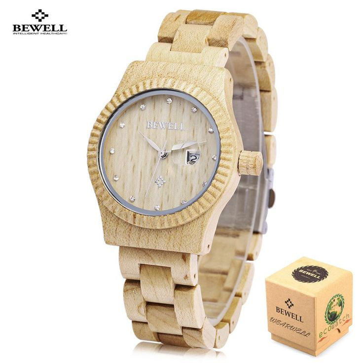 #SHOP over 30,000 New Products / Low Prices at SaveMajor.com - #savemajor $ http://savemajor.com/products/bewell-wooden-quartz-watches-casual-women-watches-nature-top-luxury-brand-watch-clock-dress-style-female-ladies-relogio-feminino?utm_campaign=social_autopilot&utm_source=pin&utm_medium=pin Bewell Wooden Qua...
