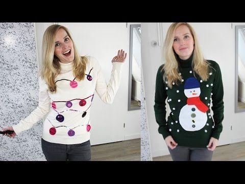 DIY Foute kersttrui maken! Super makkelijk & leuk