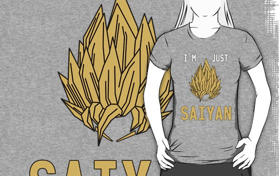 I'm Just Saiyan - Original by VRex $25.56: Originals Byvrex, Byvrex 2556
