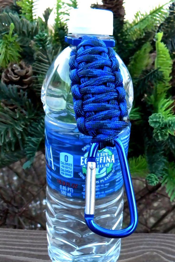 105 best DIY Paracord Bottle Holder Ideas images on Pinterest ...