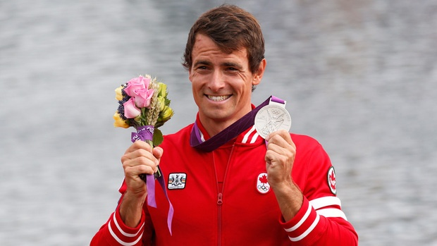 Silver Medalist: Adam van Koeverden  Men's Kayaking
