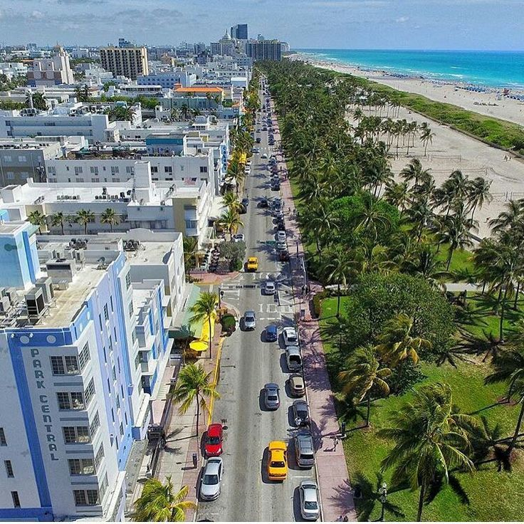 South Beach • Ocean Drive • Miami Beach, Florida