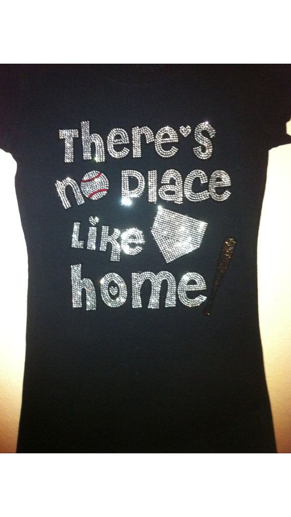 there 39 s no place like home softball. baseball or softball no place like home bling by blingqueendesigns there 39 s b