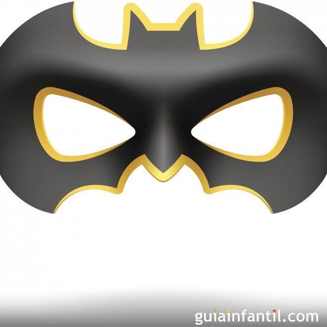 Convierte a tu hijo en Batman - Antifaces para niños y padres ...