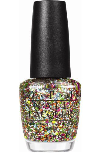 Well yeah, I definitely want this. OPI Muppets Glitter Polish.