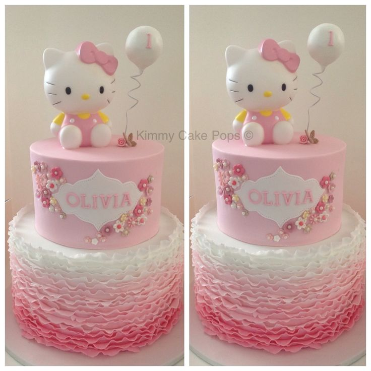 Hello Kitty:Children's Birthday Cakes -