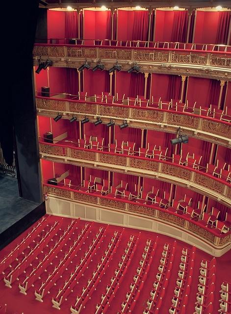 Teatro María Guerrero. by nathdiaza, via Flickr