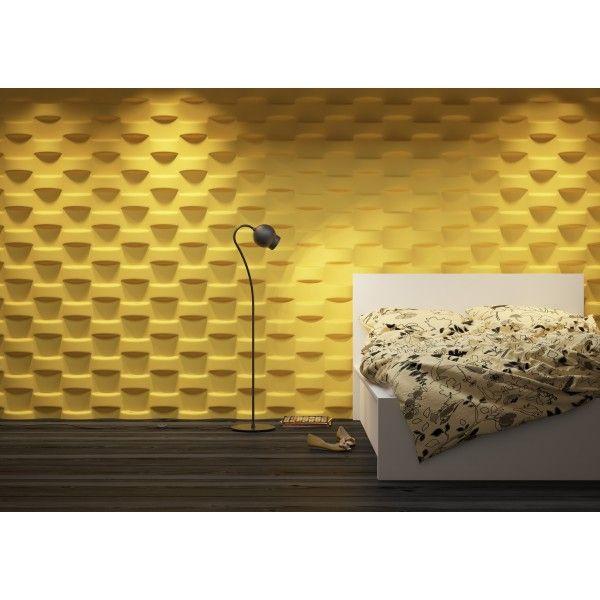 Dunes 24 WICKER - Panel gipsowy 3D  >> http://lemonroom.pl/panele-3d/99-dunes-24-wicker-panel-gipsowy-3d-.html