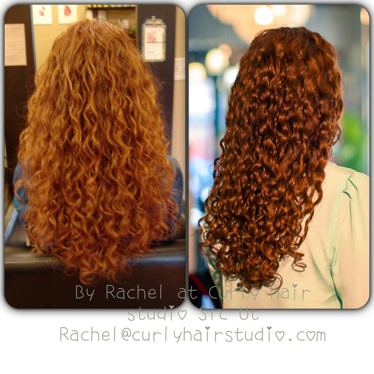 Before And After Curly Hair Care Curlyhairstudio Com My