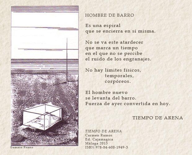 Poema visual. Tiempo de arena. Carmen Ramos