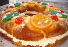 Receta Roscon de Reyes con Thermomix paso a paso fácil TM31 TM5. Uno de los postres y dulces de Navidad típicos que podemos casero y esponjoso