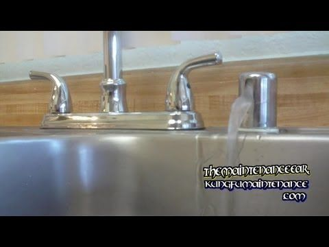 How To Stop Dishwasher Leaking Water From Sink Counter Top Air Gap When Running Plus Draining - YouTube