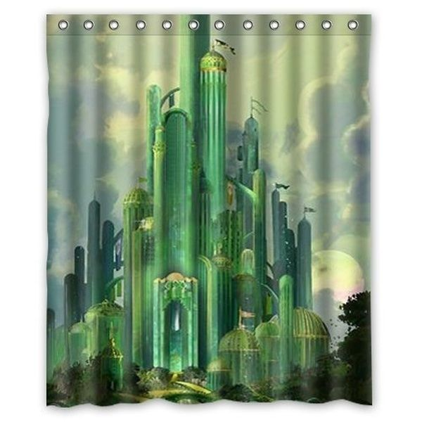 The Wizard Of Oz Shower Curtain 60x72 Inch Fabric Shower