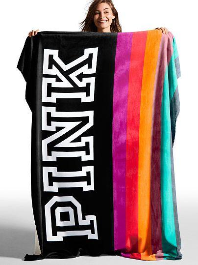 Soft Sherpa Blanket - PINK - Victoria's Secret | @giftryapp