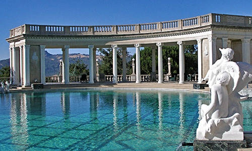 California Attractions - Hearst Castle - things to do, places to see