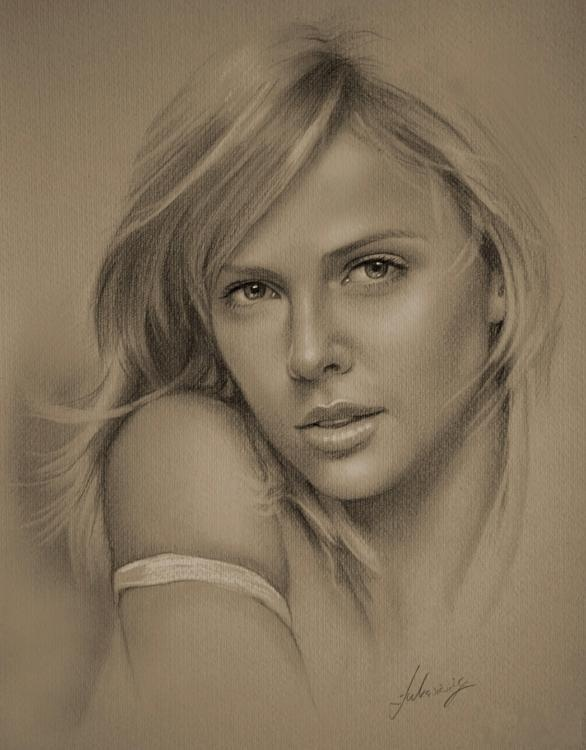 beautiful pencil drawings of top celebrities beautiful pencil drawings ...