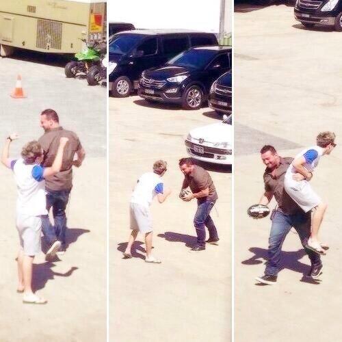 Niall and Paul