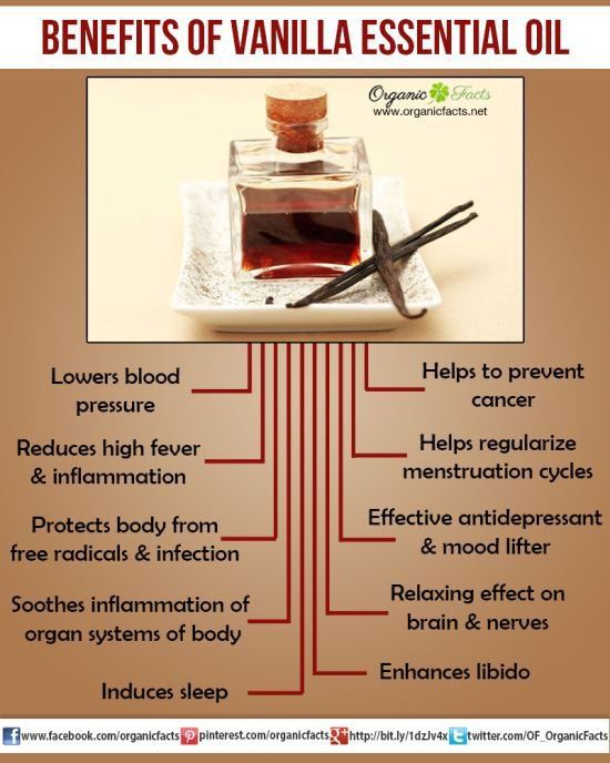 Health Benefits of Vanilla Essential Oil