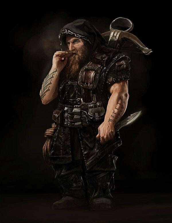 Dwarf Ranger/Anão Patrulheiro