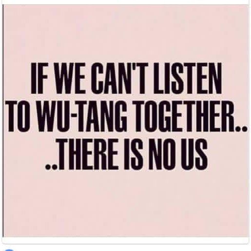 WUTANGCLAN reminds me of my phone nights rendezvous conversations with Brandon and Matt Gannon.