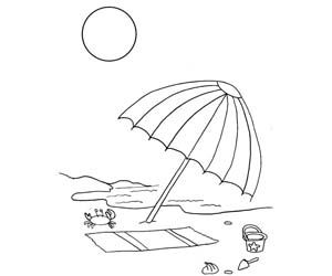 Colorings- Holiday, family On Beach, holiday picture colorings, just visit to see a large scale of holidays coloring pages. No need to search a large amount of data in google, Visit ox4.in to get fulfill your search.