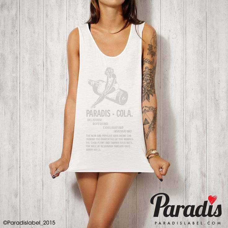 Cola Tank - Paradis Label Cola Tank - Paradis Label, Paradis Label, tank singlet cool fashion summer fashion beach vogue paris paradis sydney hot elegant sexy top