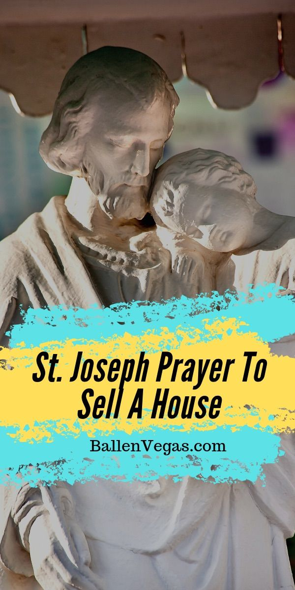 How To Bury The St Joseph Statue To Sell A House Prayer Buy