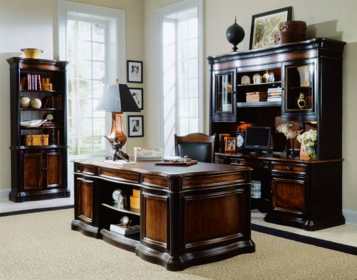 Hooker Furniture Home Office hooker furniture home office glamorous home office furniture amp accessories hooker furniture Hooker Furniture Preston Ridge Executive Desk W Leather Top