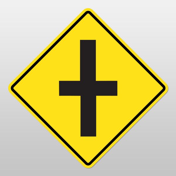 INTERSECTION Sign (Uncontrolled)