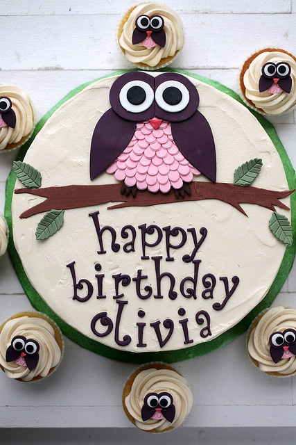Best Cake Animal Cakes And Cupcakes I Adore Images On - Owl percy pig birthday cake