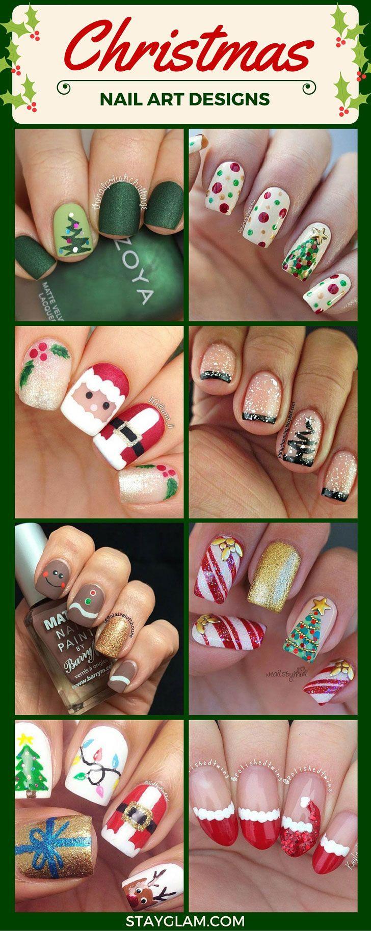 Christmas Nail Art Designs #christmas #nailart #festive - https://www.luxury.guugles.com/christmas-nail-art-designs-christmas-nailart-festive/