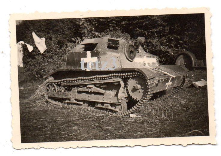 (m11) Polen 1939 Polnischer Panzer Tank Sdkfz Beutepanzer Beute | eBay
