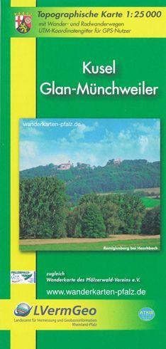 Kusel Glan-Münchweiler Wanderkarte 1:25.000 P19