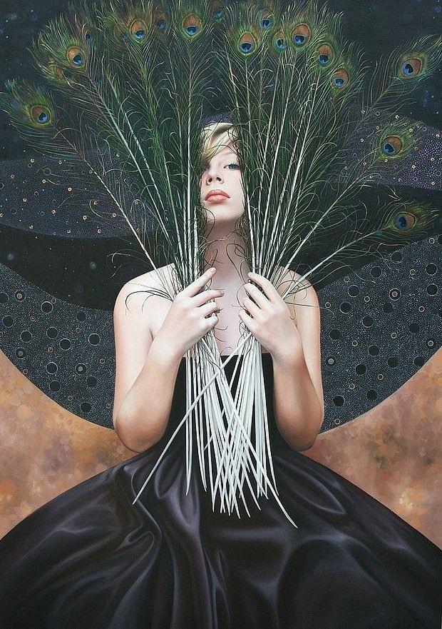 Beautiful Paintings by Christiane Vleugels