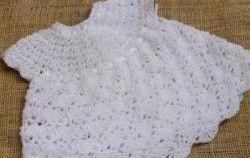 Patrones de vestidos para bebe en crochet