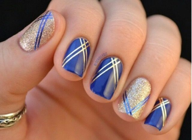 33 best nails images on pinterest nail art beauty nails and black image via gold nails image via gold nail art designs image via wedding gold nails for image via the golden hour reverse glitter gradient nail art two prinsesfo Images