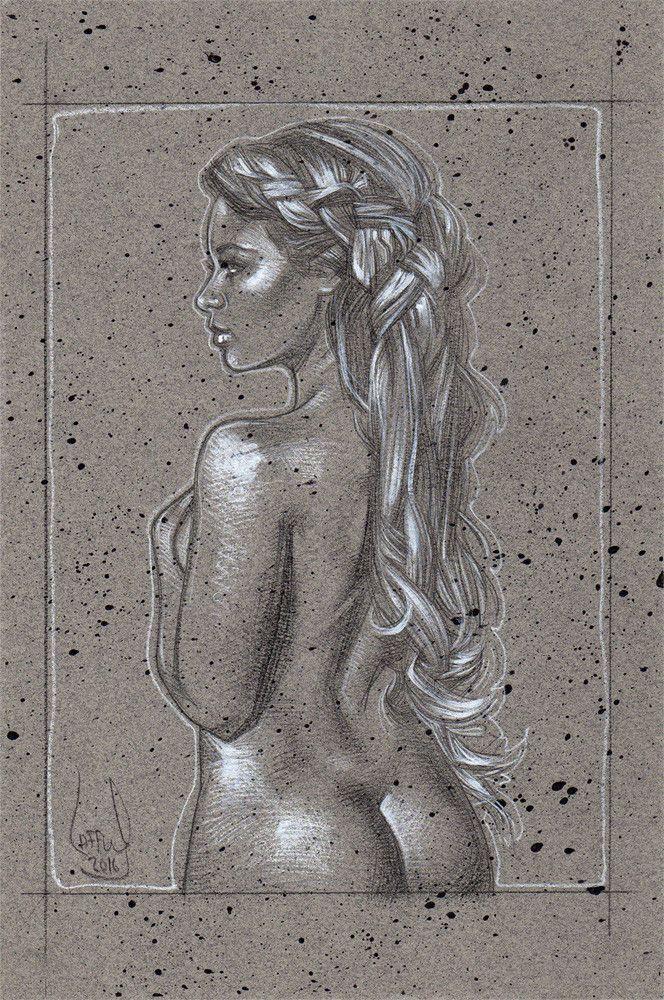 ArtStation - Divine / Nude, Jeff Lafferty