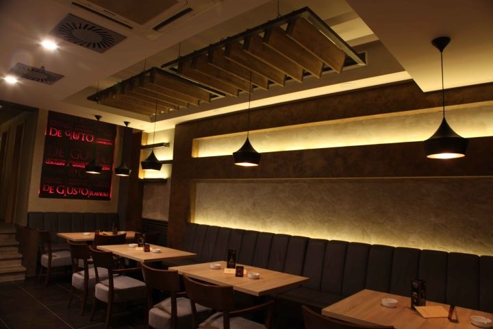 1000 images about architectural lighting and lighting for public spaces on pinterest lighting - Mika japanese cuisine bar ...