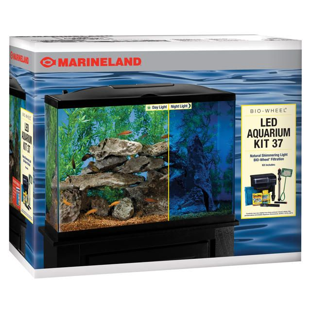 Shop Marineland Products for a saltwater aquarium kit and LED aquarium kit in one, or call (800) 322-1266 for more information.